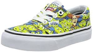 vans toy story. vans kids authentic (toy story) aliens/tr wht skate shoe 12 us toy story