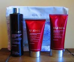 elemis frangipani monoi gift set shower nectar body polish body balm bag ebay