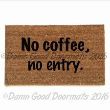Vinyl Back Doormat Be Nice Or Go Away Amazing Funny Doormats Ideas ...