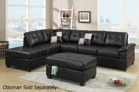 black sectional sofa. Exellent Black Reese Black Leather Sectional Sofa Inside I