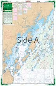 Maptech Waterproof Charts Maine Casco Bay To Monhegan Me Large Print Navigation Chart 101e