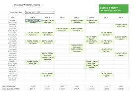 Training Schedule Calendar Template Half Marathon Program Running