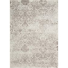 this review is from damask ivory 2 ft x 4 ft area rug