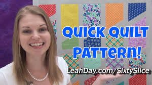 Quick and Easy Sixty Slice Quilt Tutorial - Free Quilt Pattern by ... & Quick and Easy Sixty Slice Quilt Tutorial - Free Quilt Pattern by Leah Day Adamdwight.com