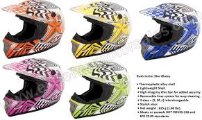 Zox Helmets Zox Off Road Helmet Star Rush Youth And Adult
