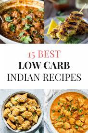low carb indian food recipes