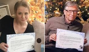 Bill Gates Plays Secret Santa Surprises Cat Fanatic Reddit User
