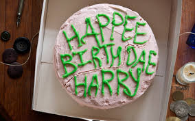 Hagrids Birthday Cake Harry Potter