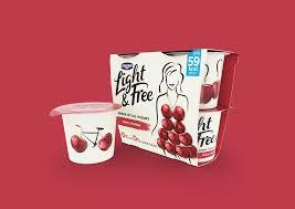 Danone Light And Free Asda Danone Light Free On Packaging Of The World Creative