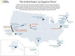 """25 อันดับเมืองที่มี """"ความสุข"""" มากที่สุดในสหรัฐอเมริกา อยากรู้กันล่ะสิว่ามีที่ไหน..    WeGoInter.com - เรียนต่อต่างประเทศ"""