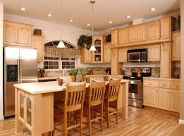 What Paint Color Looks Good With Dark Wood Cabinets Trekkerboy