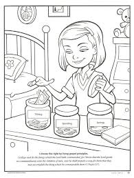 A wide variety of kids coloring sheet options are available to you, such as standard, material, and processing service. Happy Clean Living Primary 2 Lesson 33 Lds Coloring Pages Tithing Church Lessons