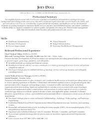 Download Healthcare Administration Sample Resume