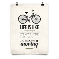 Quote Art New Albert Einstein Quote Art Quote Print Life Is Like Riding A Etsy