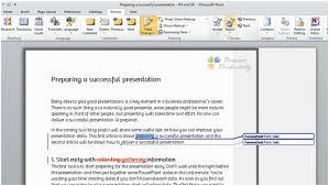 Professional Documents Using Microsoft Word 2010