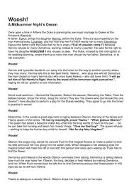 a midsummer nights dream essay a midsummer night s dream essays gradesaver marked by teachers document image preview
