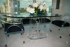 Appealing Acrylic Dining Table And Chairs 76 For Your Best
