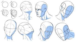 How To Draw Heads At Various Angles Reference By Robertmarzullo On