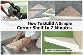 Building Corner Shelves Buildcornershelfhouseofroseblogcomjpg 98