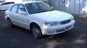 Toyota Carolla XE Saloon 1998 No.270 - YouTube