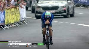 Rad-WM: Filippo Ganna holt Gold im Zeitfahren - Belgier van Aert knapp  geschlagen - Radsport Video - Eurosport