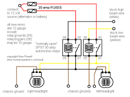 simple headlight relay wiring simple headlight harness schematic