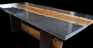 cement furniture. Concrete And Wood Table Cement Furniture G
