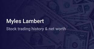 Myles Lambert Net Worth (2020) | wallmine