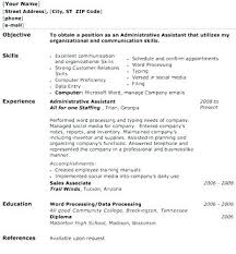 Sample Functional Resume For Administrative Assistant Functional ...