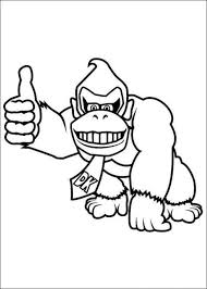 Donkey Kong Colouring Pages Free Coloring Pages On Art Coloring Pages