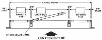 entry door size entry prehung 6 panel top lite fiberglass door with 2 sidelights