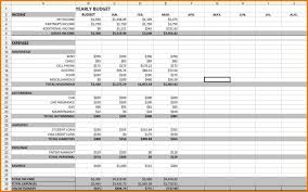 Personal Budget Spreadsheet Personal Budget Spreadsheet Template ...