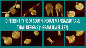Types Of Thali Designs Different Type Of South Indian Mangalsutra Thali Designs One Gram Jewellery