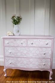 painting designs on furniture. simple designs a stenciled lace dresser thatu0027s fit for a princess  diy tutorial painting  with royal design to designs on furniture l