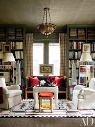 in the library of houston decorator j randall powerss home a paul ferrante ceiling fixture