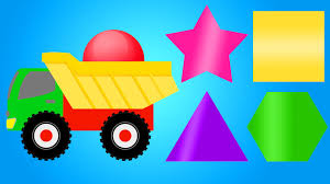 shapes and colors for toddlers. Wonderful Shapes Colors For Children Learning With Color Shapes  Colour Truck Kids  Toddlers Kindergarten Videos  YouTube Intended And For C