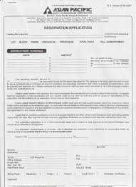 7-1. Forms : Asian Pacific Realty & Brokerage Corporation