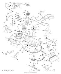 Mower deck cutting deck on kohler engine parts diagram