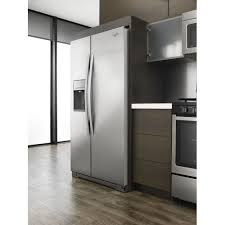 Counter Depth Refrigerator Only Wrs571cidm Whirlpool 36 21 Cu Ft Counter Depth Side By Side
