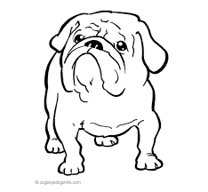 Small Picture bulldog coloring pages for kids bulldog pictures to color coloring