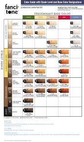 Roux Fancitone Color Chart