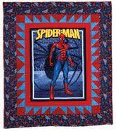 82 best Spiderman Quilts images on Pinterest   Spiderman, Curves ... & SPIDERMAN QUILT 2 Adamdwight.com