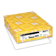 Amazon Com Neenah Exact Vellum Bristol 67 Lb 8 5 X 11 Inches