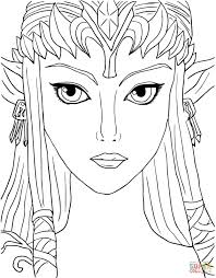 Small Picture Legend of Zelda Twilight Princess coloring page Free Printable
