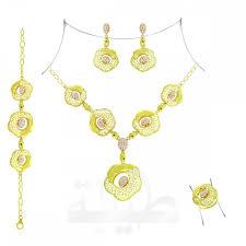 Dubai Gold Designs Catalogue Full Set B27 Gold Collection Taiba Dubai Gold Jewelry
