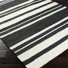 black striped rug striped rug 8 x from black and white striped area rug 5x7