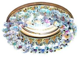 <b>Встраиваемый светильник Ambrella light</b> K206 MULTI/G, золо ...