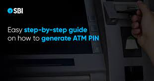 how to generate sbi atm pin by sms atm