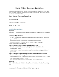 Author Resume Sample Format Examples The Resume Design Book