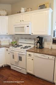 Painted Kitchen Cabinets With White Appliances Crafters Regarding  Proportions 1066 X 1600 And Pantry